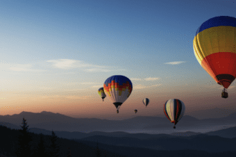 Outplacement - Hot air balloons