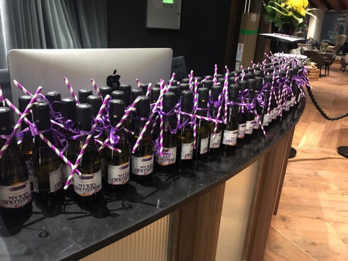 10Eighty Christmas Party - Bottles